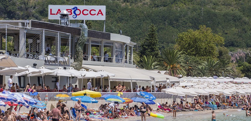 la bocca restaurant and beach